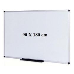 White board – 90 cm X 180 cm  + 1 Free Eraser +1 whiteboard pen