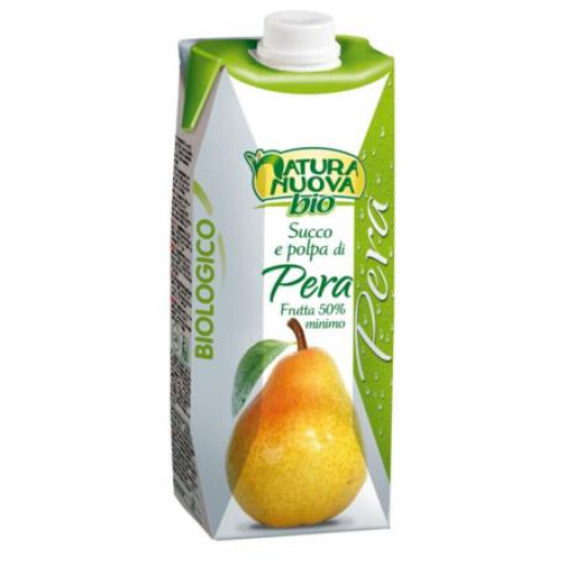 Natura Nouva Organic Pear Nectar Juice (750ml)