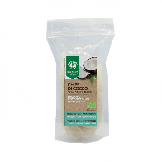 Probios Organic Coconut Chips 125g
