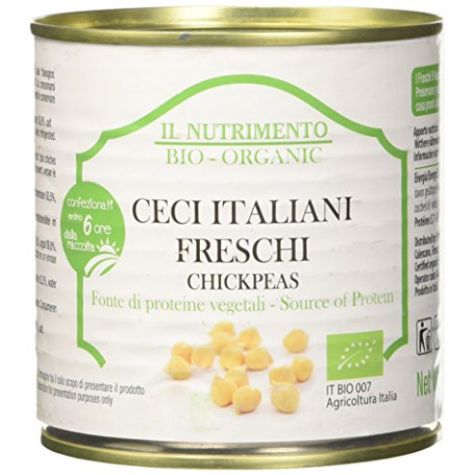 IL Nutrimento Organic  Chickpeas in Water 400g