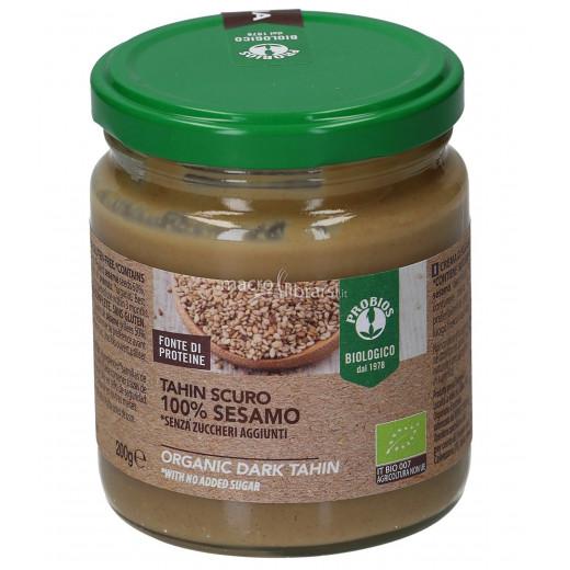 Probios IL Organic Gluten Free Dark Tahini Sesame Cream 200g