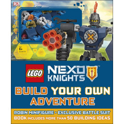 LEGO NEXO KNIGHTS Build Your Own Adventure : With Minifigure and exclusive model
