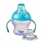 Tommee Tippee First Sips Soft Transition Cup 150 ml, Purple