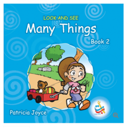 Look and See Series - LOOK AND SEE Many Things BOOK 2 - 34 Pages - 20x20 - Soft Cover