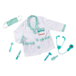 Melissa & doug Doctor Role Play Costume Set, 3-6 years
