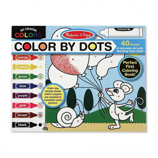 Melissa & Doug Color By Dots Art Activity