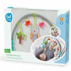 Taf Toys Musical Arch Owl For Toddler Infant Cot Pram Musicial Activity