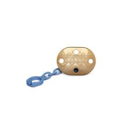 Suavinex Pacifier Premium Couture Physiological Chain - Dark Blue