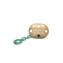 Suavinex Pacifier Premium Couture Physiological Chain - Green