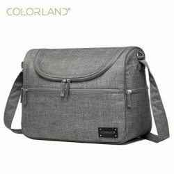 COLORLAND Diaper Bag Messenger Hobos Multifunction Waterproof Maternity Bag