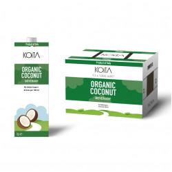 KOITA Organic Coconut Milk 1L - Pack of 12