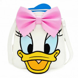 Funko Loungefly Disney Daisy Duck & Donald Duck Mini Backpack Purse Bag Reversible