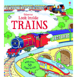 Usborne - Look Inside Trains