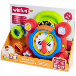 Winfun Time For Fun Learning Clock