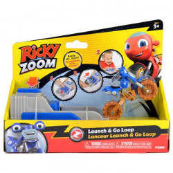 Ricky Zoom Launch And Go Ricky, Blue
