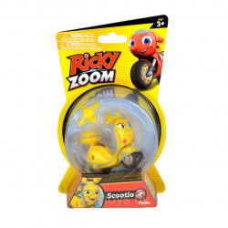 Tomy Ricky Zoom Core 4 Scootio Whizzbang Toy Scooter 3-inch Action Figure, Yellow