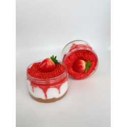 YIPPEE! Sensory Strawberry Cheesecake Slime by Rahma