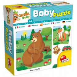 Lisciani Baby - Puzzle The forest