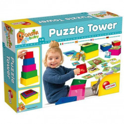 Lisciani Baby game Tower with puzzles