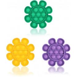 Chuckle & Roar Pop It Fidget Fun Bubble Sensor Stress Relief Toys star Design, Multi Color, Assortment