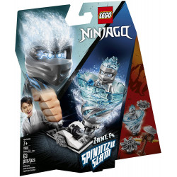 Lego Ninjago Spinjitzu Slam Zane 70683 Building Kit (63 Pieces)