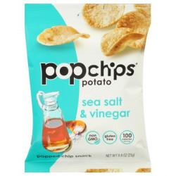 Pop Potato Chip - Sea Salt And Vinegar Potato Chips 23G