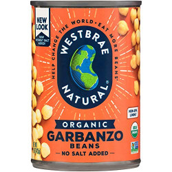 Westbrae Natural Organic Garbanzo Beans 425g