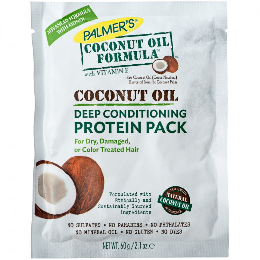 Palmer's Coconut Oil Formula Deep Conditioning Protein Pack, 2.1 Oz