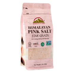 Himalayan Chef Fine Grain Salt, Himalayan Pink 454g