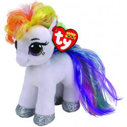 Ty Beanie Boos Babies Starr White Pony Soft Toy