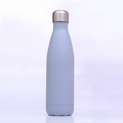 Genioworld Thermos Water Bottle 500ml - Grey