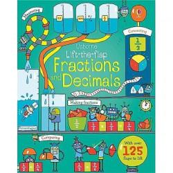 Usborne - Lift-The-Flap Fractions and Decimals