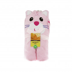 Animal Face Hooded Towel, Cat