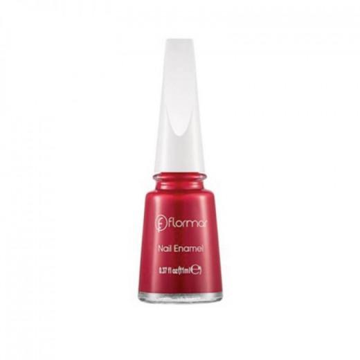 Flormar Polish Nail Enamel 048 Fiery Red