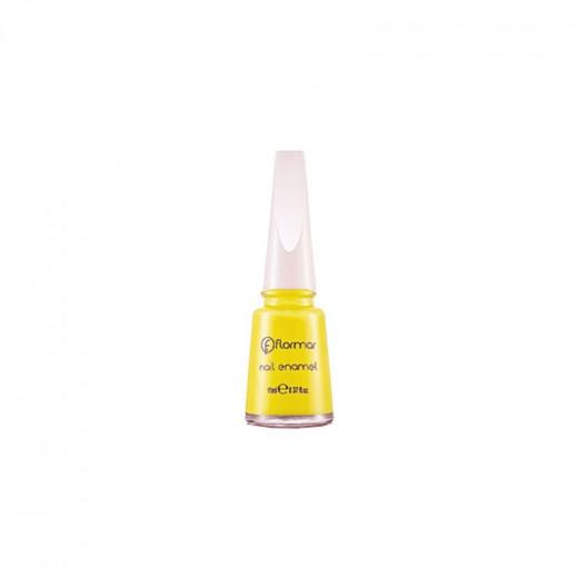 Flormar Nail Enamel 420 Neon yellow 11ml