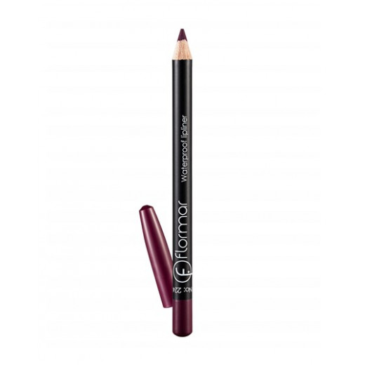 Flormar - Waterproof Lipliner Pencil 224 Saturated Bordeaux