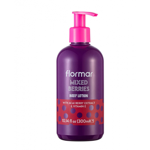 Flormar Body Lotion- Mixed Berries-300ml