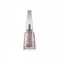 Flormar Glitter Nail Enamel GL02 Pink Silver 11ml