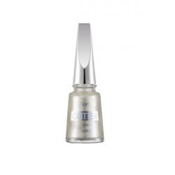 Flormar Glitter Nail Enamel GL12 White Pearl 11ml