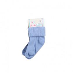 2 Pairs of Baby Socks New born, Blue