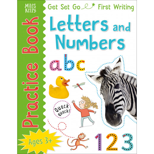 Miles Kelly - Get Set Go: Practice Book - Letters and Numbers