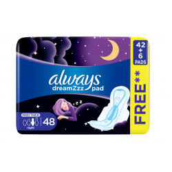Always Pad Night Offer 48 Count