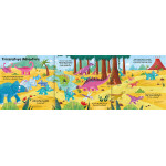 Miles Kelly - Convertible Dinosaur Board Book