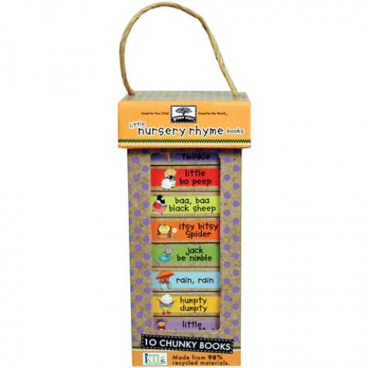 Green Start Book Towers: Little Nursery Rhymes (10 Chunky Books)