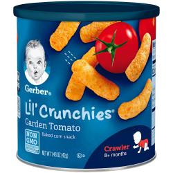Gerber Lil Crunchies 42g Garden Tomato