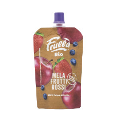Natura Nuova 100% Organic Red Fruit Puree, 100 gram