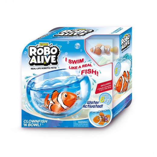 Robo Alive Play Set - Clown Fish