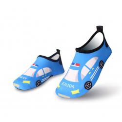 أحذية مائية، تصميم سيارة زرقاء، قياس 28-29