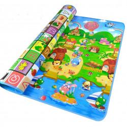 بساط اللعب التعليمية للأطفال بوجهين ونماذج وألوان مختلفة