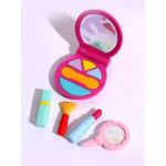مجموعة إزالة التجميل, باللون زهري غامق